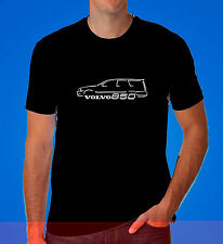 Volvo 850 T5 Estate Wagon Dad gift Turbo Retro R Race inspired car T Shirt