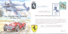 CC25b ITAF cabalgando Caballo Ferrari RAF Cubierta firmado OC Balducci