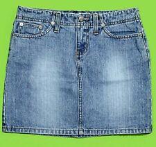 Bongo Hipster sz 3 Womens Juniors Blue Jeans Denim Mini Skirt KC87