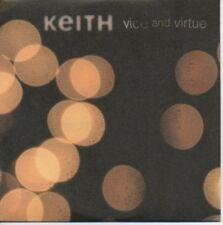 (997B) Keith, Vice And Virtue - DJ CD