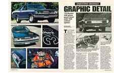 1970 PLYMOUTH DUSTER 340 / V24 CALLOUT HOOD OPTION  ~  NICE 2-PG ARTICLE / AD