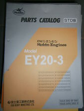 Robin Engines Ey20-3: Parts Catalog 08/2002