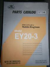 ROBIN Engines EY20-3 : Parts Catalog 08/2002