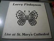 Larry Finlayson Live At St. Mary's Cathedral~Rare 1978 Religious Folk Vinyl LP