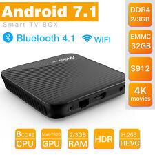 32GB M8S PRO 4K HD 1080P Android 7.1 OCTA CORE 64bit Smart TV Box Mediaplayer