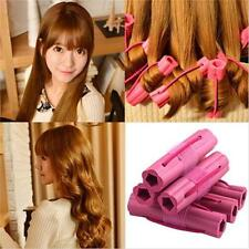 6pcs Magic Foam Rollers Sponge Hair Styling Soft Curler Twist DIY Tool B