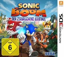 Sonic Boom Crystal-The Broken Crystal Nintendo 3DS NEW + Original Package