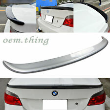 IN STOCK USA PAINTED BMW E60 5 SERIES 4DR A TYPE TRUNK SPOILER M5 523i 540i #354