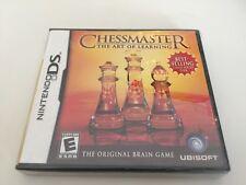 Chessmaster: The Art of Learning (Nintendo DS, 2007) DS NEW