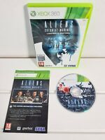 ALIENS COLONIAL MARINES LIMITED EDITION XBOX 360 GAME PAL WITH MANUAL