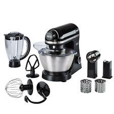 AEG KM 3300 3Series Küchenmaschine schwarz 6 Stufen Edelstahl-Rührschüssel 4L