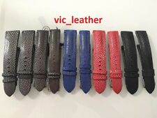 16mm to 26mm Customize Genuine Stingray Alligator Skin Leather Watch Strap Band