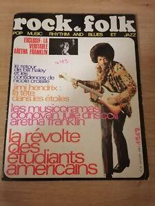 Magazine Rock folk n 19 06/07 1968 très bon etat