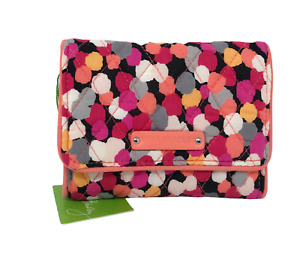 VERA BRADLEY Petite Trifold Wallet in PIXIE CONFETTI Retired Excellent Condition