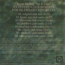 JASON WALKER SET IT FREE CDR PROMO US JUNIOR VASQUEZ MUSIC JVM024