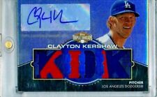 2012 Clayton Kershaw Triple Threads KID K 2-Color Jersey Auto 2/3 SSP Dodgers