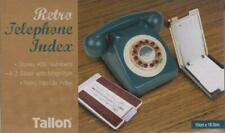 A-z Slider Retro Flip Open Telephone Index Phone Book 400 Numbers Tallon Ez8