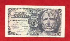 SIN SERIE  EBC+, 5 PTAS DEL 12 DE ABRIL DEL AÑO 1947