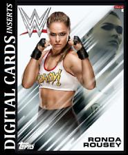 Topps WWE Slam Digital Streak Silver Brock Lesnar