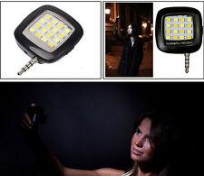Universal Mini 16LED Flash Fill Light Selfie Night Photo For Phone iPhone 6s HTC
