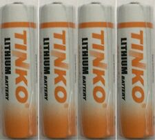 4 x LS14500/ER14505 CR14500, LSG14500,14500 AA 2400 mAh Battery