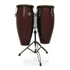 Lp Aspire Wood Conga Set with Double Stand - Lpa646-Dw