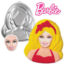 Barbie Cake Pan with Face Plate from Wilton 6065 NEW