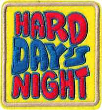 9992 Hard Day's Night Beatles Music Band 1960s Psychedelic Music Iron On Patch