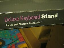 CASIO Deluxe Keyboard Stand For CTK CT-X Wk & LK Series Holds Up to 150 Lbs
