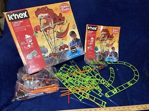 K'nex Thrill Rides New T-Rex Fury Roller Coaster Building Set As Is