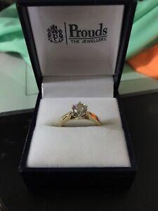DIAMOND SOLITAIRE  RING 18CT -  1.00CT - BRAND NEW & BONUS