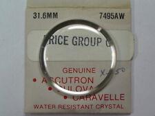 NOS Accutron 31.6 mm  Armored Crystal   #7495AW       bul-57