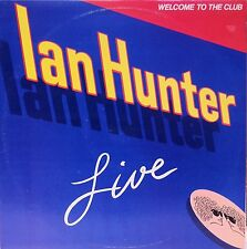 IAN HUNTER Welcome To The Club Live Double LP L70153/4 Mick Ronson