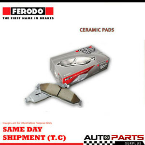Ferodo Brake Pad Set Rear For Volkswagen Tiguan 2.0 TDI 4motion (5N) Dsl 07-16