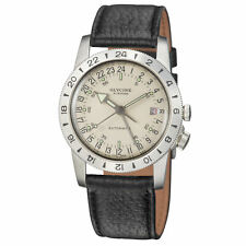 Glycine 3944.11.LB9U Airman No. 1 GMT Automatic 36mm Silver Dial - GL0160