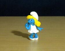 Smurfs Dreamy Smurfette 3D Movie Figure Vintage Smurf Toy PVC Figurine Lot 20731