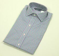 $70 NWT Polo Ralph Lauren Dress Shirt CLASSIC Fit 17 1/2, 36/37 Lavender Spread