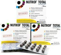 Nutrof Total Food Supplement for the Maintenance of Vision 180 Capsules STRONG!