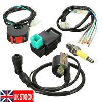 Wiring Loom Kill Switch Coil CDI Spark Plug for Honda Pit Bike 110cc 125cc 140cc