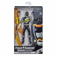 "Power Rangers Lightning Collection Dino Charge BLACK RANGER 6"" Figure NEW"