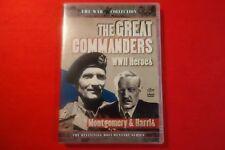 The Great Commanders WW2 Heroes - DVD - Free Postage !!