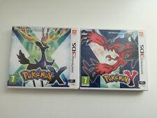 Nintendo 3DS Pokemon X + Pokemon Y *getestet* mit OVP - SEHR GUT