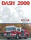 Fire Equipment Brochure - Pierce - Dash 2000 Pumper Tanker Chassis 1999 (DB304)