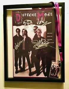 Depeche Mode SIGNED Songs of Faith..Press kit w/Photos, Book,.Bio, Pass and more