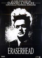 Affiche 120x160cm ERASERHEAD 1977 David Lynch - Jack Nance, Charlotte Stewart #
