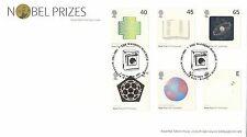 (99655) GB FDC Premio Nobel LAVATRICE Brentford 2 OTT 2001