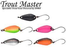 5 Trout Master Incy Spoon 2cm 1,5g - Blinker Set, Forellenblinker, Forellenköder
