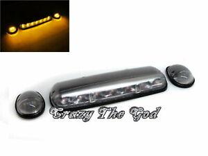 Sierra 2002-2006 Pickup 2D/4D LED Cab Roof Marker Light Lamp Gray for GMC