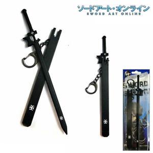 HOT Anime Sword Art Online Kirito Sword with Sheath Keychain Keyring Pendant