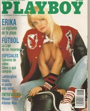 PLAYBOY N°:157 #Spanish Edition # Erika Eleniak John Lennon